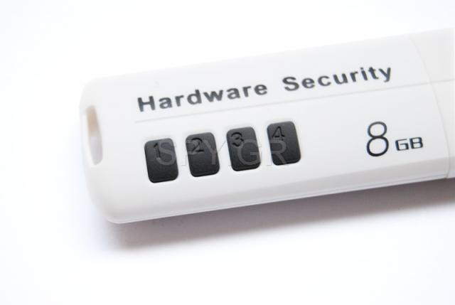 USB flash drive 8GB με Password