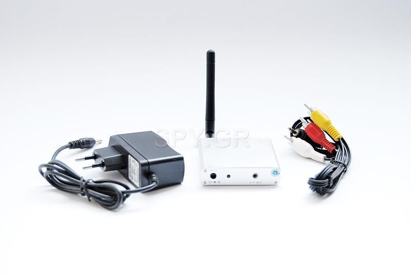 Δέκτης για ασύρματες κάμερες 2,3 και 2,4 GHz