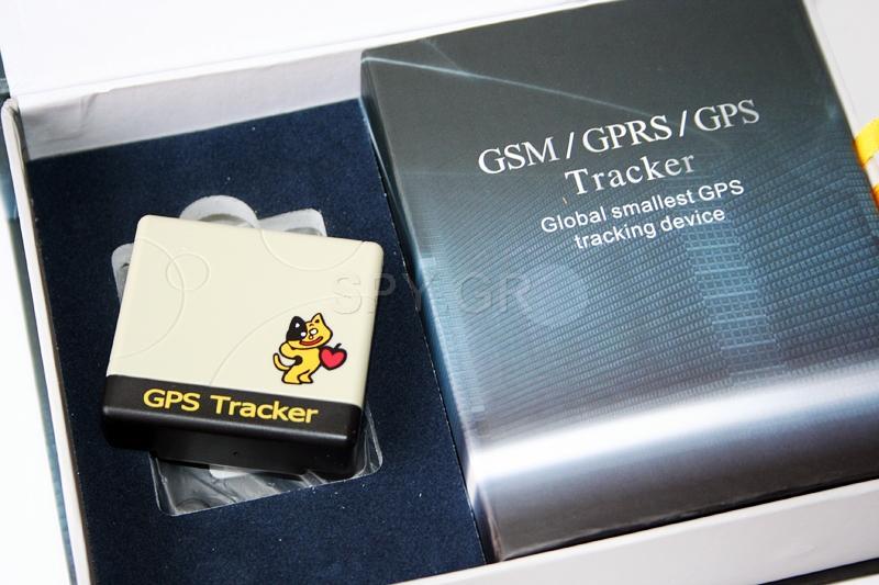 Συμπαγής GPS tracker