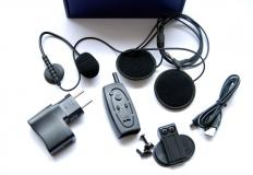 Bluetooth handsfree για κράνος