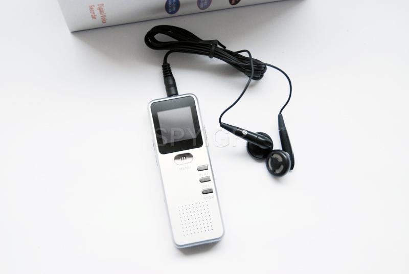 Καταγραφικό ήχου / δικτόφωνο καταγραφή 36 ώρες