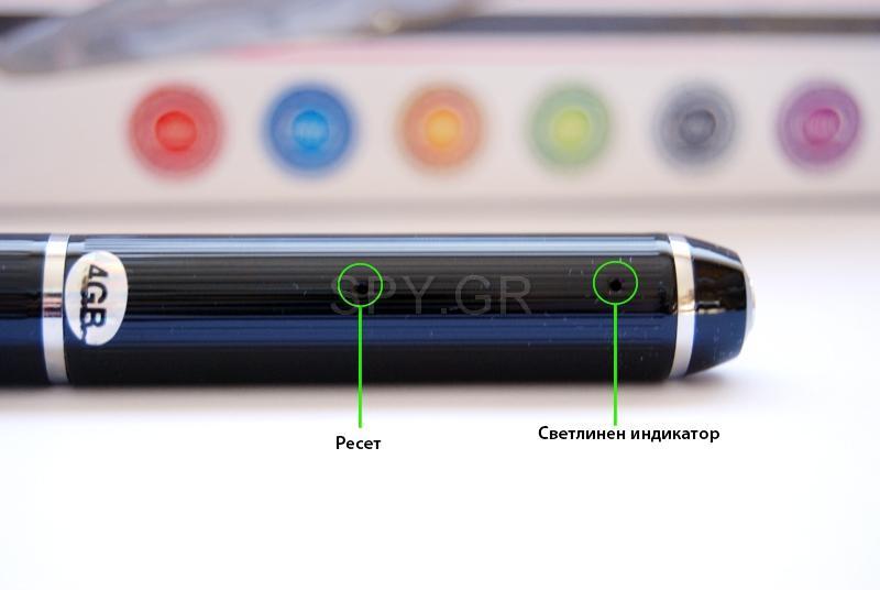 Πολυλειτουργικό στυλό με ανιχνευτή κίνησης