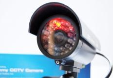 CCTV Ψεύτικη κάμερα περιφρούρησης με δίοδο LED