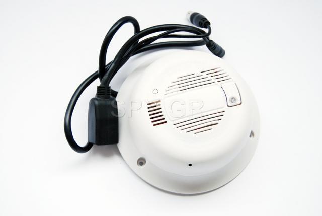 Ασύρματη ΙΡ κάμερα κρυμμένη σε αισθητήρα καπνού