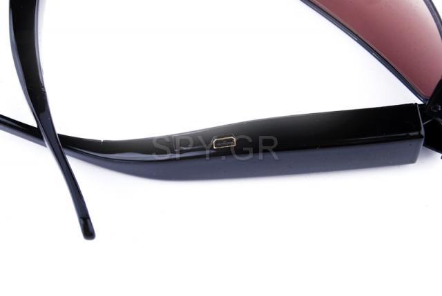 Κρυμμένη κάμερα σε γυαλιά ηλίου