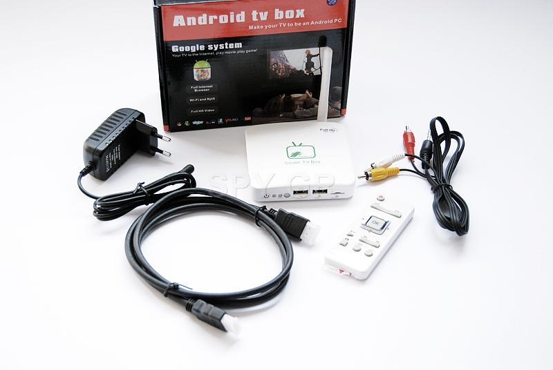 Android TV BOX - Google system