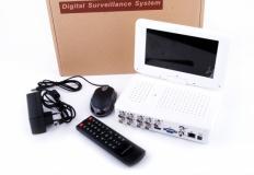 DVR 8 καναλιών με 7 ίντσες οθόνη