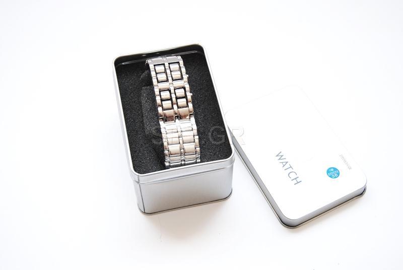 Εντυπωσιακό ρολόι με LED φωτάκια