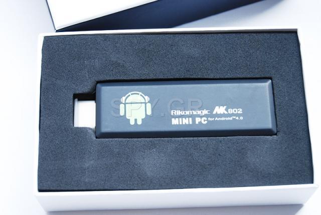 Mini PC MK802 II. TV μίνι υπολογιστής με Android 4