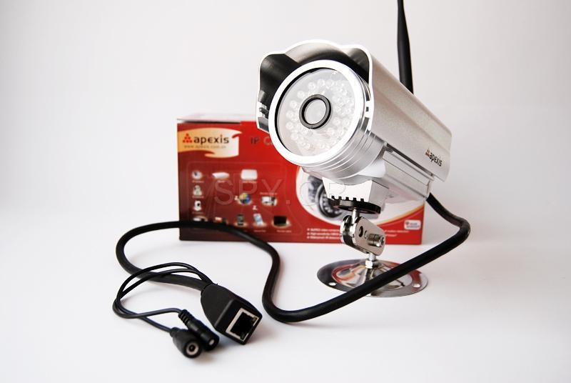 IP κάμερα εξωτερικής εγκατάστασης