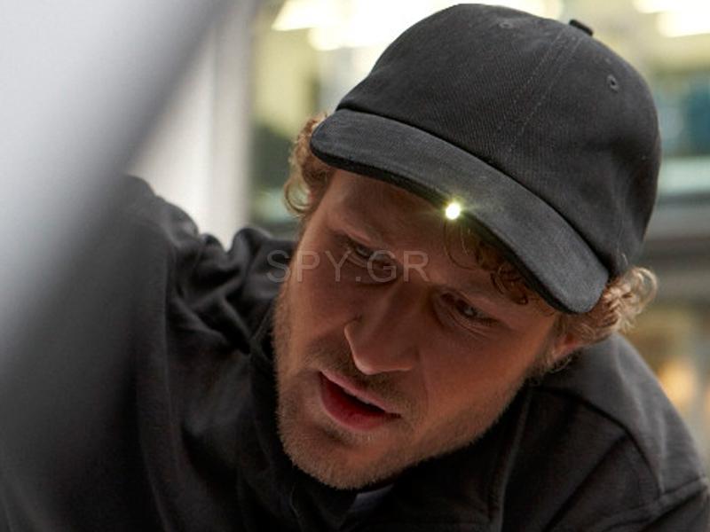 Καπέλο με 3 LED