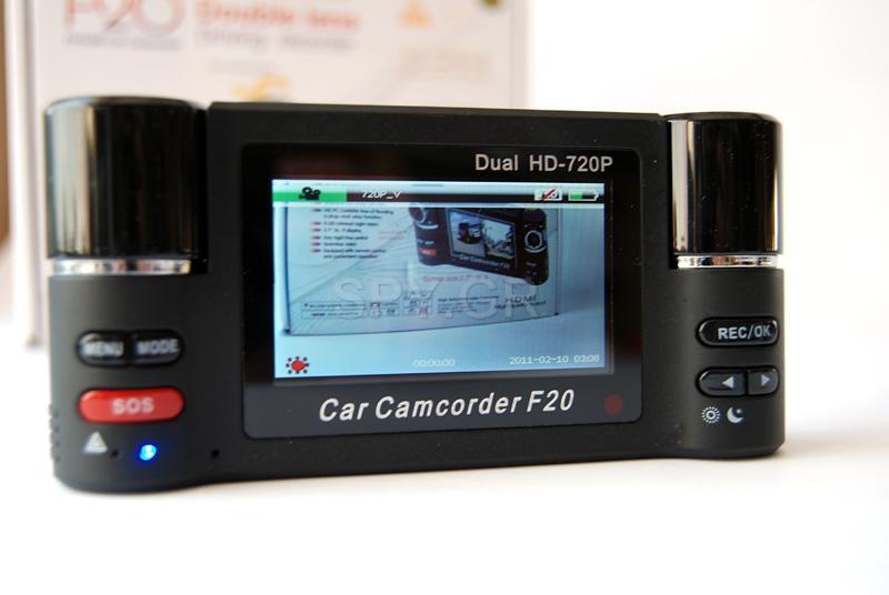 Αθλητική κάμερα με δύο φακούς