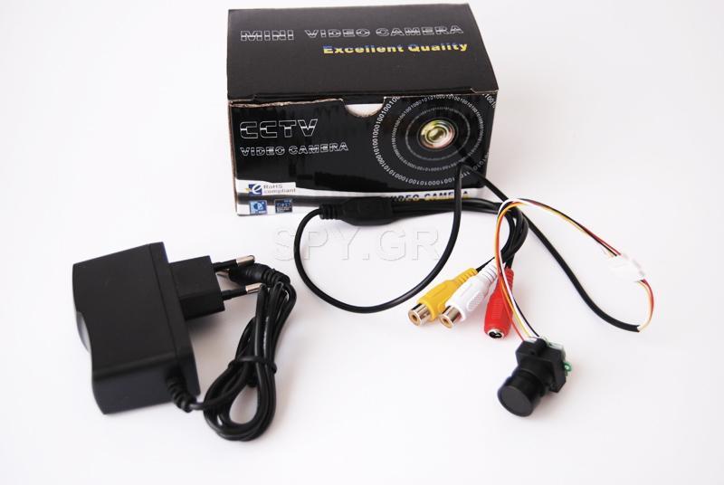CCTV κάμερα με ήχο