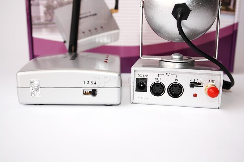 Κάμερα με μεταδότη και δέκτη 2.4 GHz