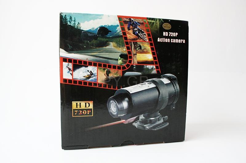 Action κάμερα με υψηλή ανάλυση