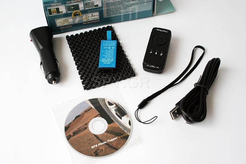 Συνδυασμένος GPS δέκτης και Data Logger