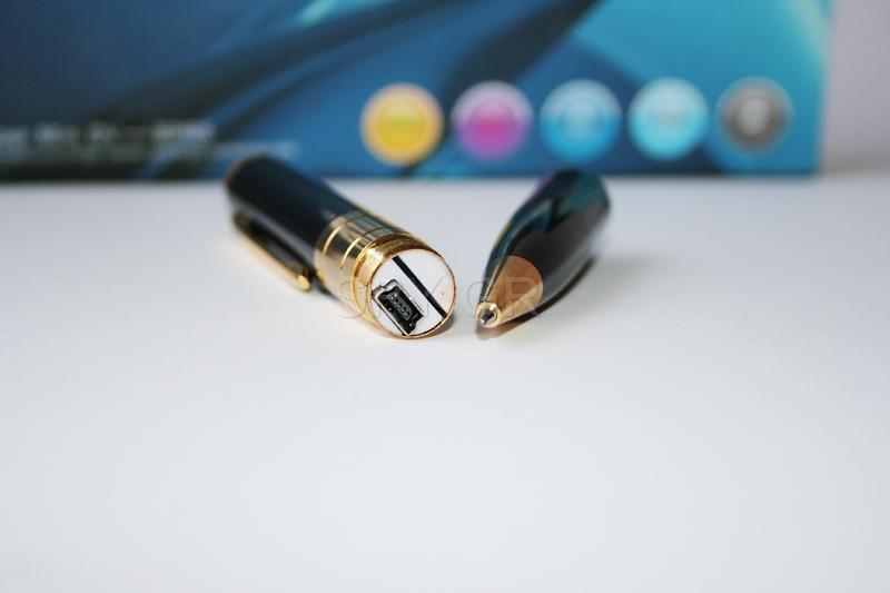 Στυλό-κάμερα με ανυχνευτη κινησησ,και μια 4GB κάρτα μνήμης