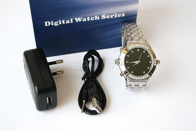 Κρυφή κάμερα σε γυναικείο ρολόι χειρός 4GB