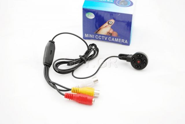CCTV κάμερα με υπέρυθρες διόδους