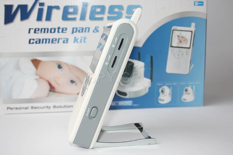 Ενδοεπικοινωνία για μωρά με κινητή κάμερα