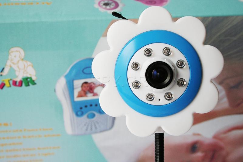 Ενδοεπικοινωνία για μωρά με κάμερα