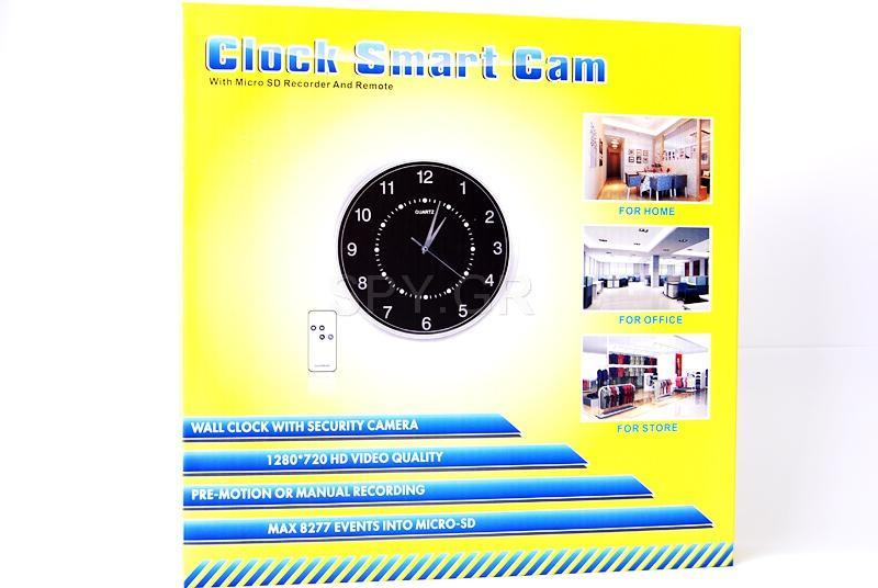 Κρυφή κάμερα σε ρολόι τοίχου