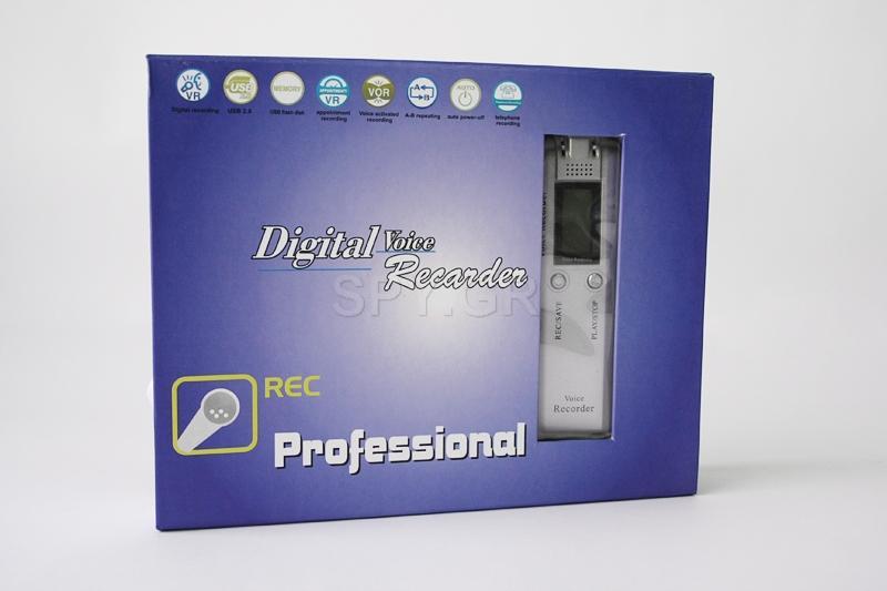 Ψηφιακό audio recorder  2GB με ράδιο και MP3 player