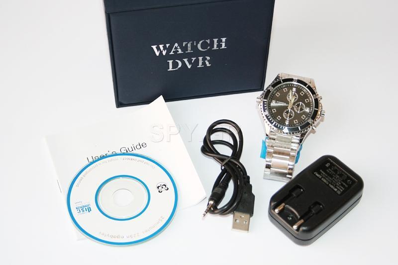 Κάμερα με ανιχνευτή κίνησης κρυμμένη σε  ρολόι χειρός - 4GB
