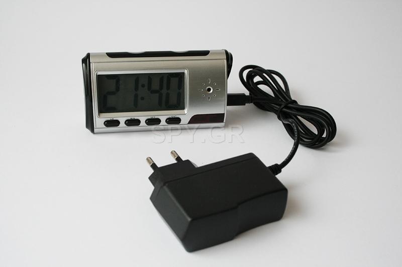 Επιτραπέζιο ρολόι  με κρυφή κάμερα - 4GB