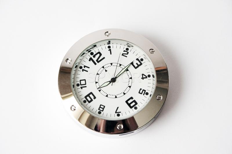 Κάμερα με ανιχνευτή κίνησης σε  επιτραπέζιο ρολόι