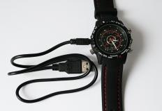 Αδιάβροχο Κατασκοπευτικό Ρολόι 4GB