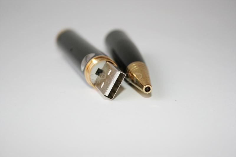 Στυλό με ενσωματωμένη κάμερα και  συσκευή εγγραφής ήχου 8GB