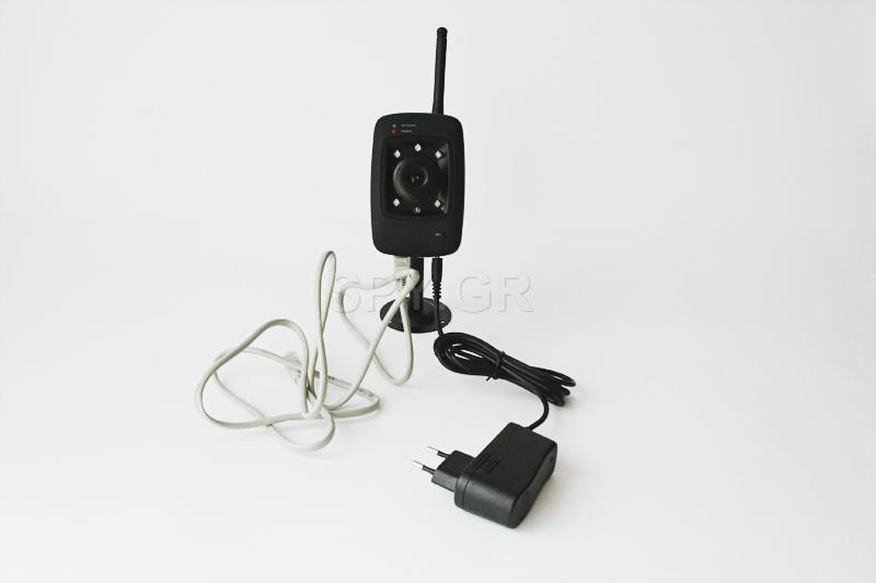 IP κάμερα για  LAN και ασύρματα δίκτυα