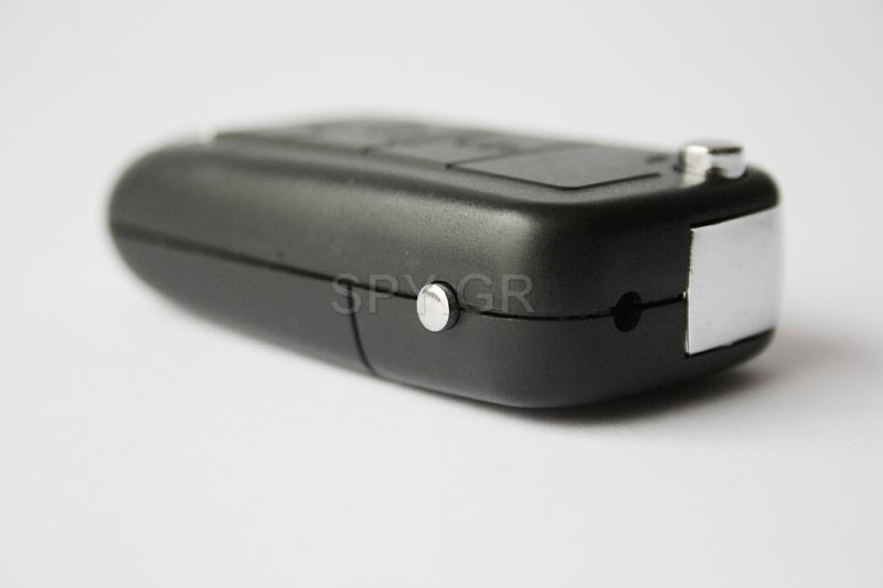 Κρυμμένη κάμερα σε Μπρελόκ Αυτοκινήτου με φωνητική ενεργοποίηση 4GB