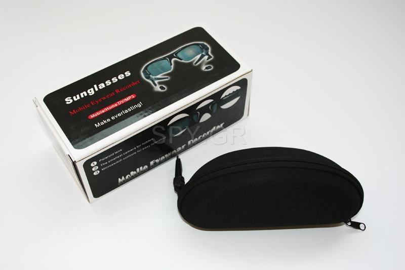 Κατασκοπευτική κάμερα, MP3, γυαλιά ηλίου - 4GB
