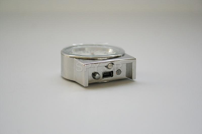 Κρυφή κάμερα σε  επιτραπέζιο ρολόι - 4GB