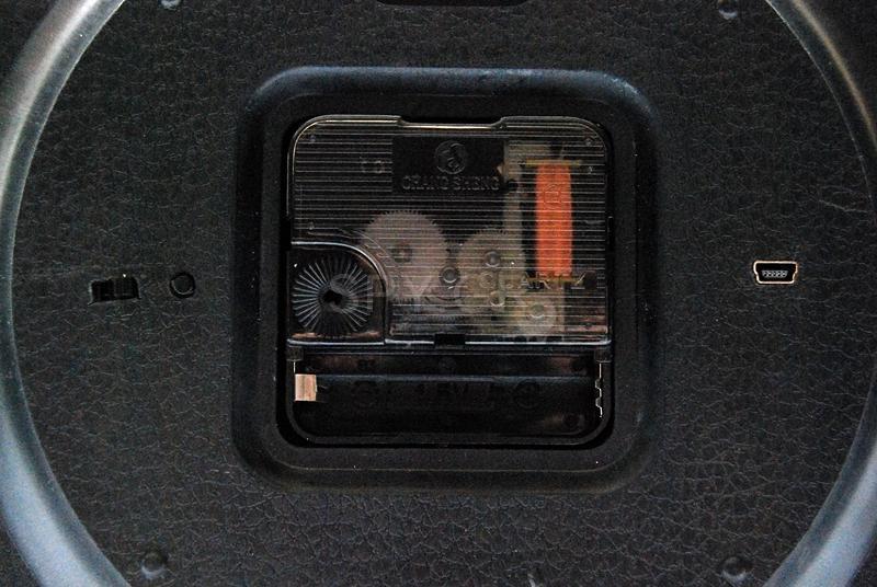 Ρολόι τοίχου με κάμερα