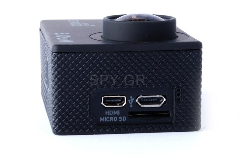 Κάμερα μαύρη SJCAM SJ4000 WIFI για αυτοκίνητο+δεύτερη μπαταρία