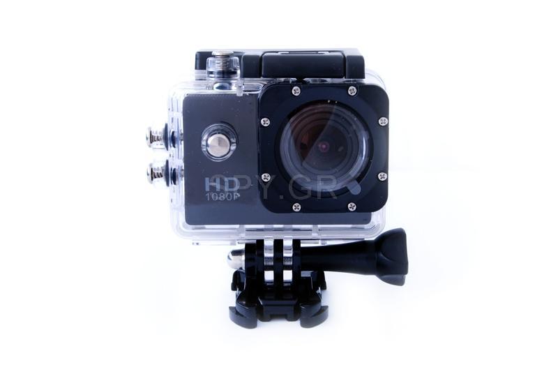 Αθλητική κάμερα FullHD κάμερα - μαύρη