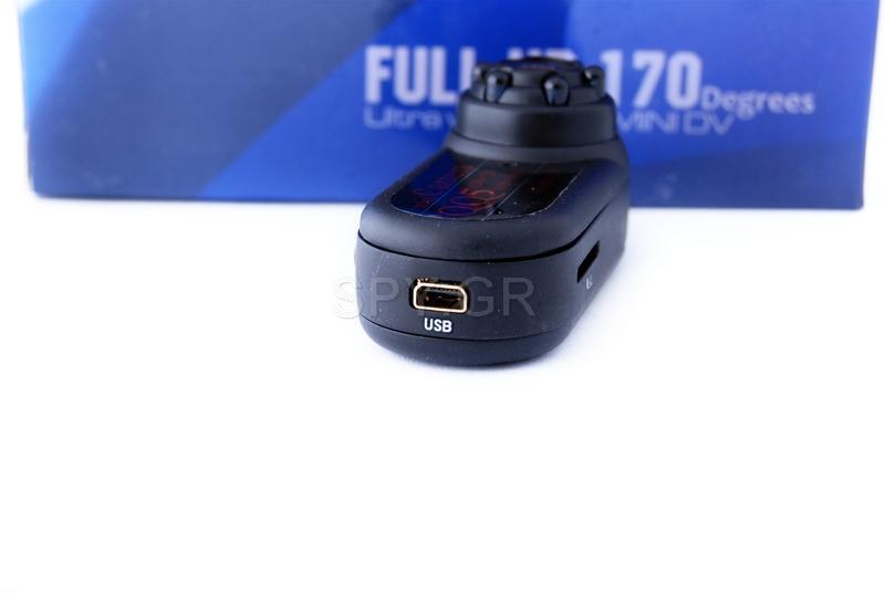 Μίνι κάμερα με ευρυγώνιο φακό