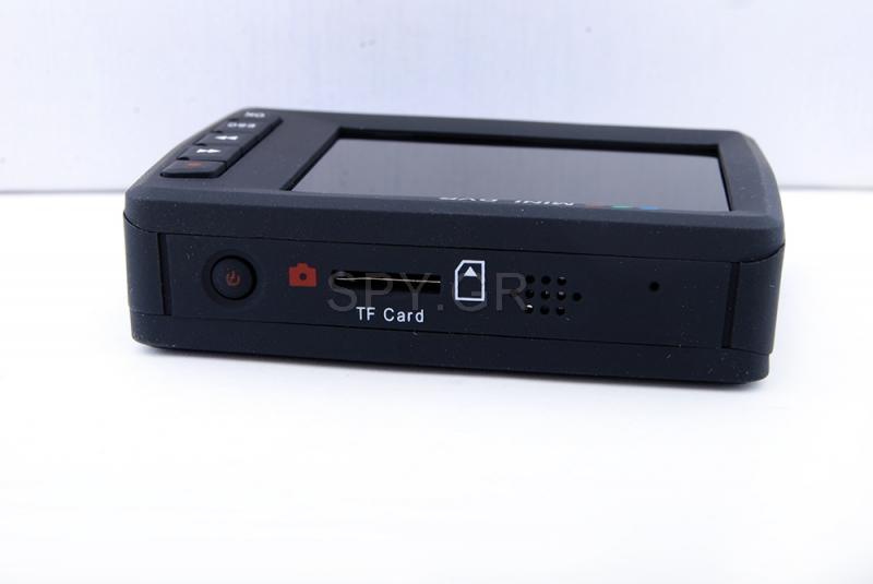 DVR, μίνι κάμερα και τηλεχειριστήριο