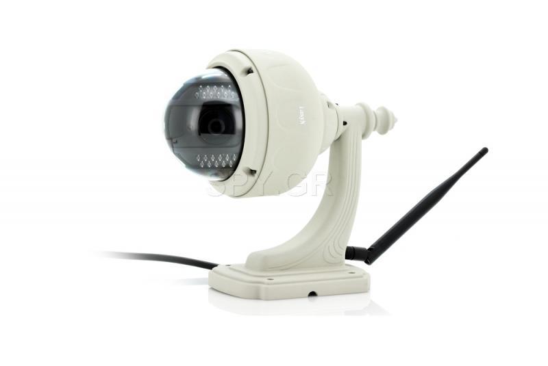 Στρογγυλή IP κάμερα για εξωτερική εγκατάσταση EasyN