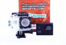 Αθλητική κάμερα με ερμητική θήκη και οθόνη 1,5 ιντσών