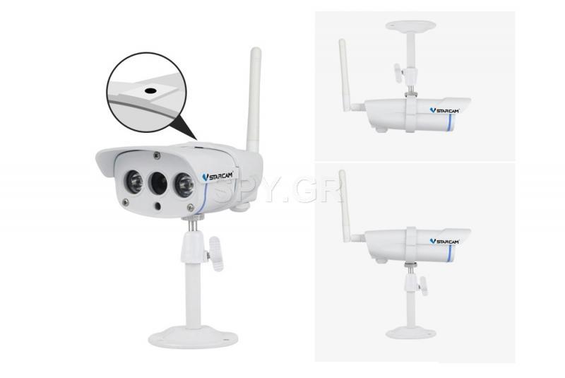 Μίνι IP κάμερα για εξωτερική εγκατάσταση