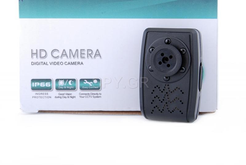 Μίνι κάμερα κουμπί χωρίς μπαταρία