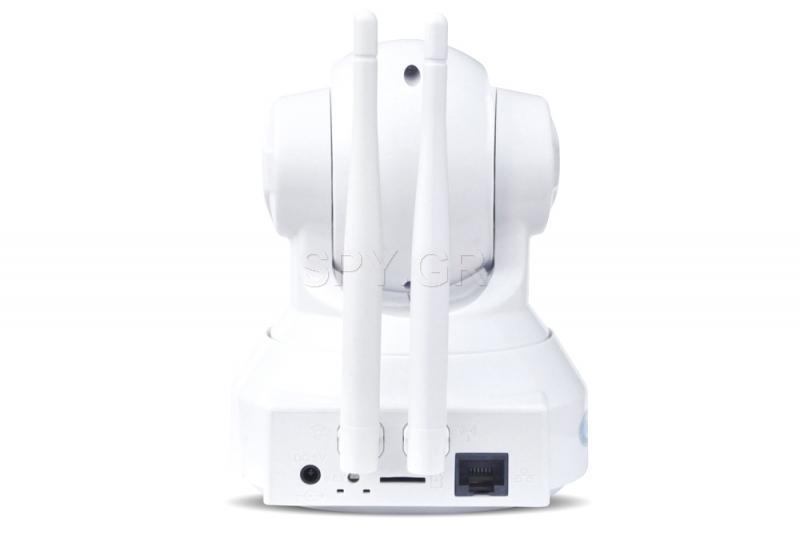 IP κάμερα με σύστημα ασφάλειας