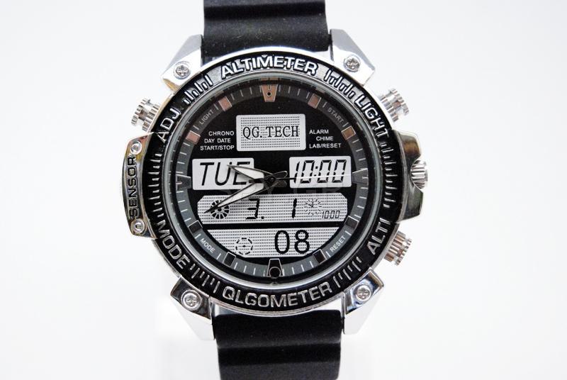 Κρυφή κάμερα σε ρολόι με ανίχνευτη κίνησης