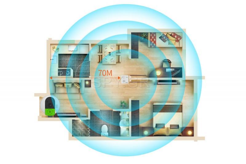 IP ματάκι πόρτας-κουδούνι