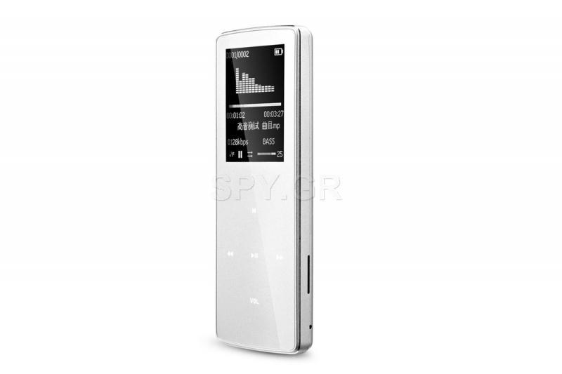 MP3 player και καταγραφικό 8GB