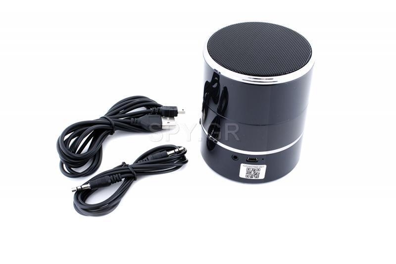 Μετακινούμενη IP κάμερα σε bluetooth ηχείο